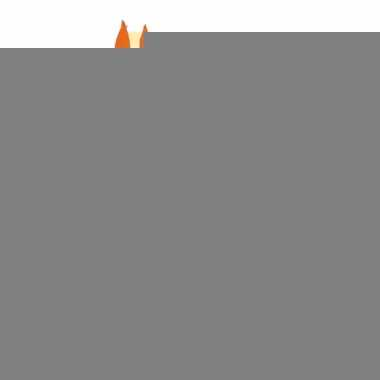 Oranje hals zakdoek