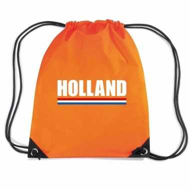 Oranje holland supporter rugzak