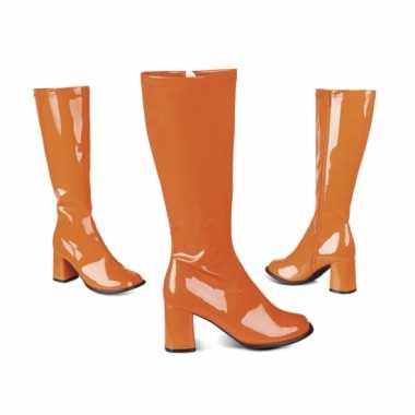 Oranje jaren 60 laarzen