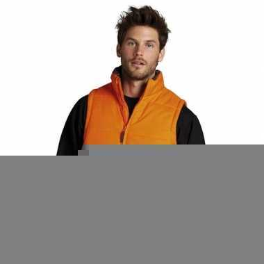 Oranje kleding bodywarmer