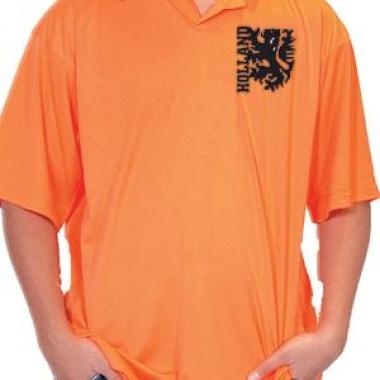 Oranje kleding poloshirts heren