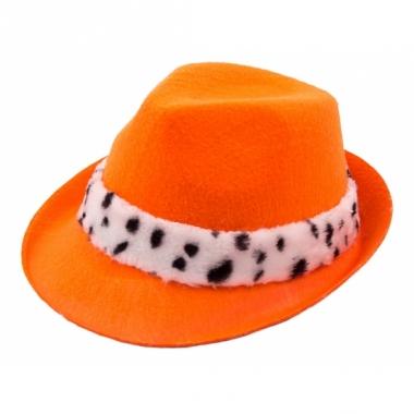 Oranje koning hoedje voor volwassenen