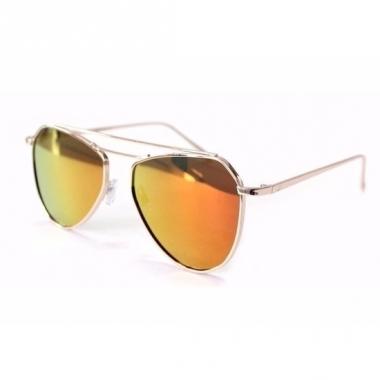 bc754c34eff954 Oranje piloten dames spiegel zonnebril model 2002