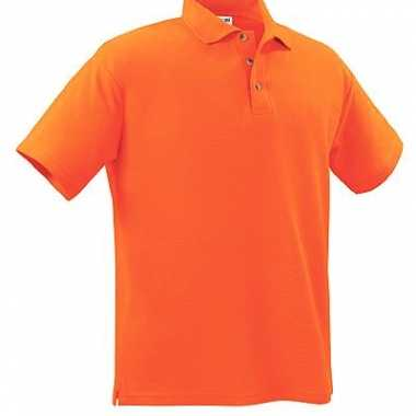 Oranje polo supporters shirt kids