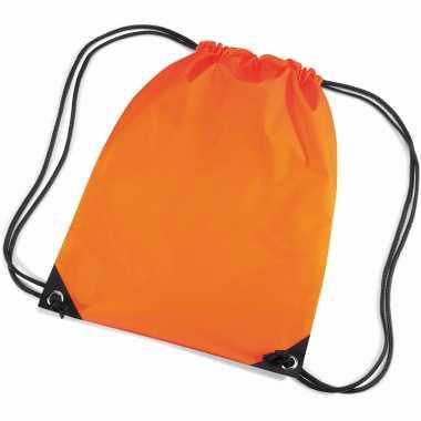 Oranje rugzakjes waterafstotend