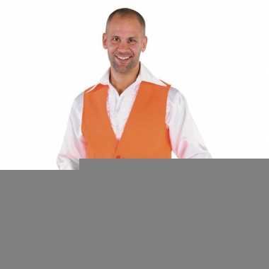 Oranje supporters gilet voor heren