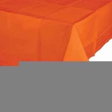 Oranje tafelkleed 137 x 274 cm