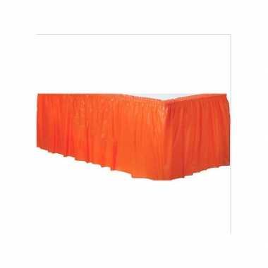 Oranje tafelrokken