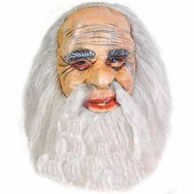 Oude mannen masker rubber