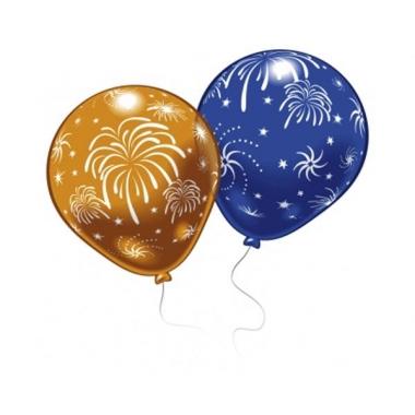 Oudejaarsavond versier ballonnen 8 stuks