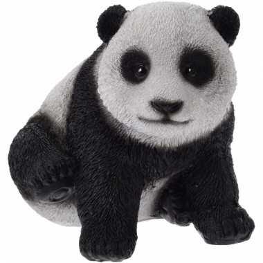 Panda beeldje 14 cm type 1 trend
