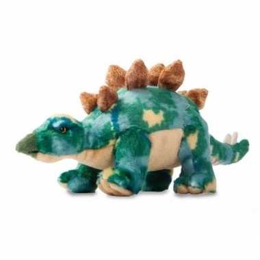 Pluche dinosaurus knuffel stegosaurus 33 cm trend