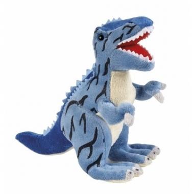 Pluche dinosaurus knuffel t rex 30 cm trend