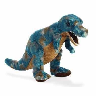 Pluche dinosaurus knuffel t rex 35 5 cm trend