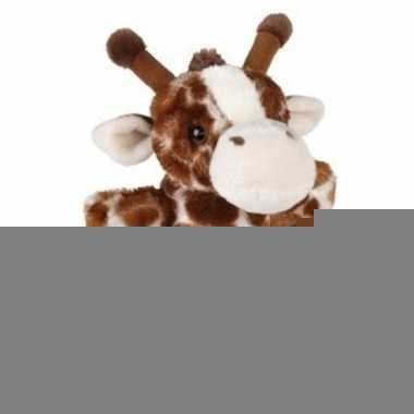 Pluche giraffe handpop 24 cm trend