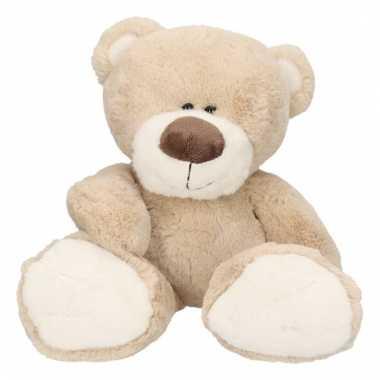 Pluche lichtbruine beer bobo knuffel 38 cm trend