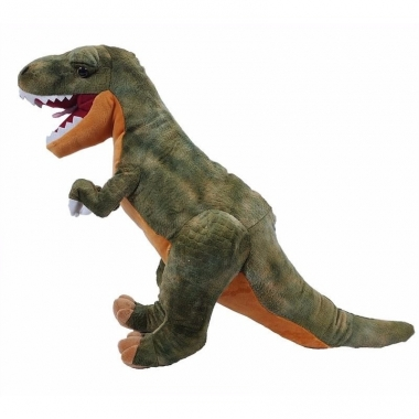 Pluche mega t-rex dino knuffel 76 cm