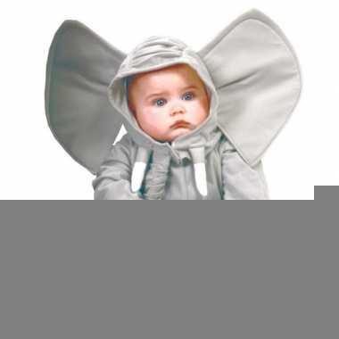 Pluche olifanten pakje voor baby's