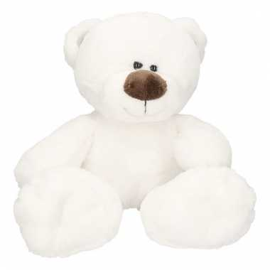 223c05d36d376f Pluche witte ijsbeer bobo knuffel 38 cm   Alltrends.nl