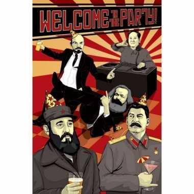 Politieke poster communisme