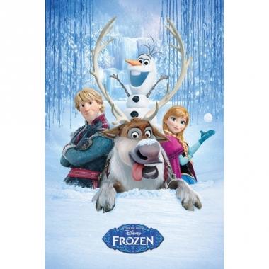 Poster frozen sven en vrienden 61 x 91,5 cm