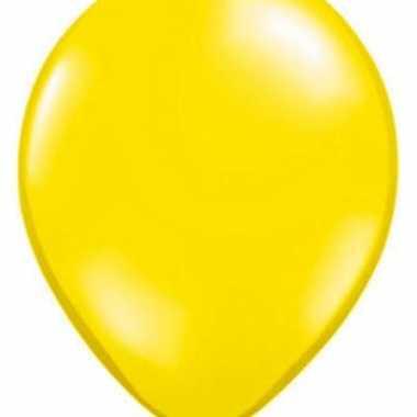 Qualatex ballonnen citroen geel