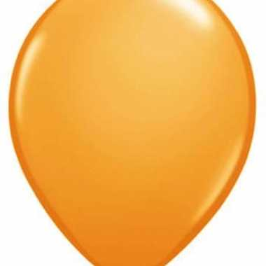 Qualatex oranje ballonnen