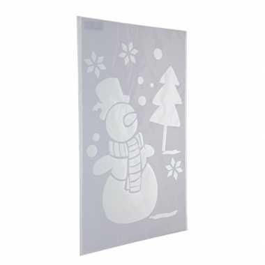 Raamsjabloon sneeuwpop 54 cm