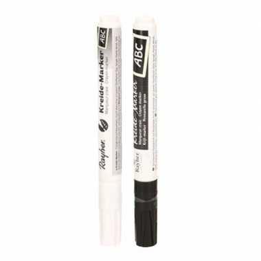 Raamstift setje zwart en wit