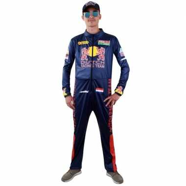 Race coureur verkleed overall voor heren