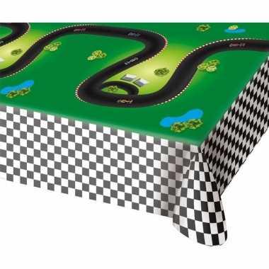 Race/formule 1 thema tafelkleed 130 x 180 cm