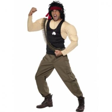 Rambo verkleed outfits voor heren