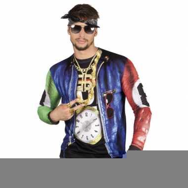 Rapper t-shirt met lange mouwen