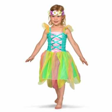 Regenboog fee kostuum voor meisjes