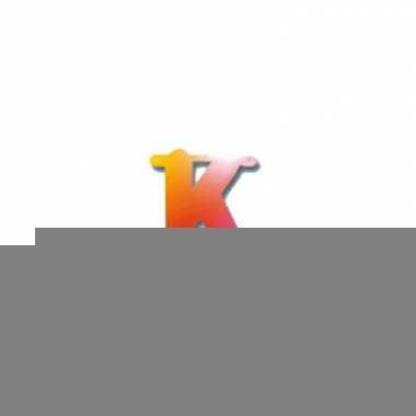 Regenboog letters k