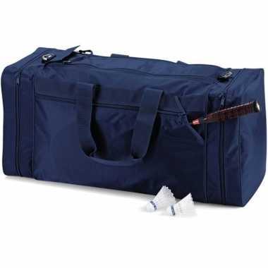 Reistas marineblauw 74 liter