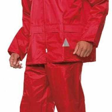 Result regenjas met broek voor volwassenen