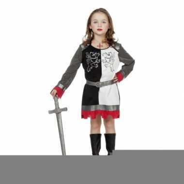 Riddertijd kostuum voor meiden