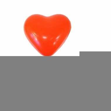 Rode ballonnen hartjes 36 stuks