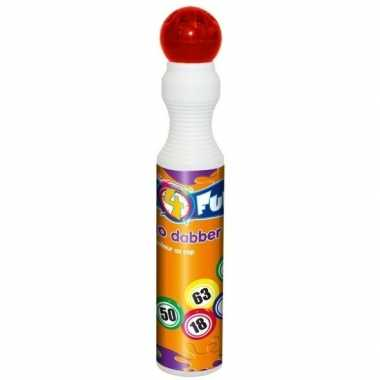 Rode bingostift 43 ml