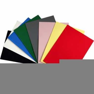 Rode crepla plaat met 20 x 30 x 0,2 cm
