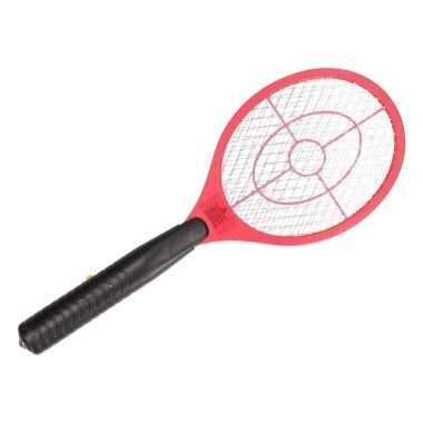 Rode elektrische vliegenmepper