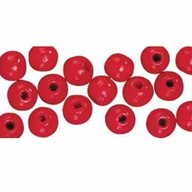 Rode kralenset 115 stuks