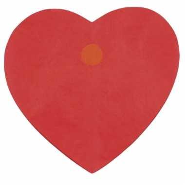 Rode liefdes hartjes slingers 4m