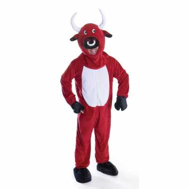 Rode stier kostuum voor volwassenen