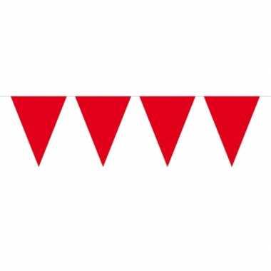 Rode vlaggentjes slinger 10 meter