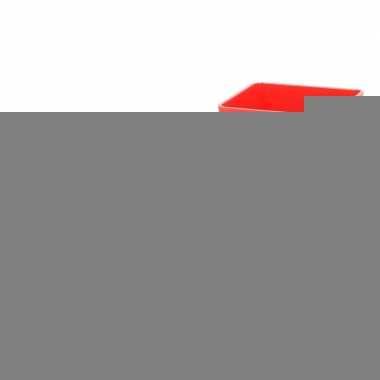 Rode vuilnisbak puntenslijper 6 cm
