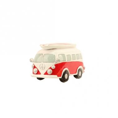 Rode vw surf bus spaarpot