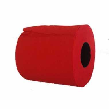 Rode wc rollen
