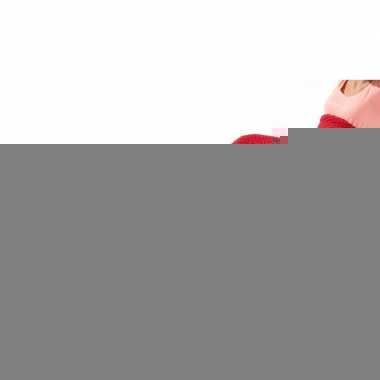 Rode zeemeerminstaart gebreide deken 180 x 90 cm